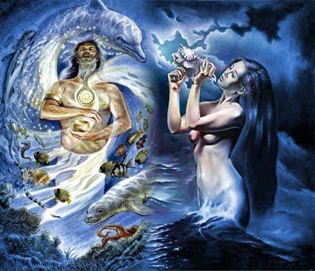 амфитрита и нептун